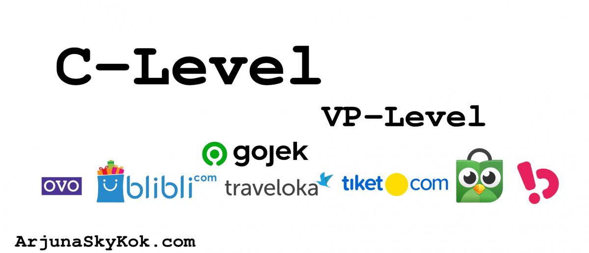 C-Level dan VP-Level di Perusahaan Teknologi Indonesia